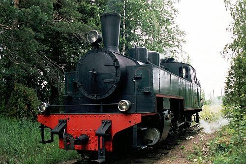 A photo of a steam Locomotive